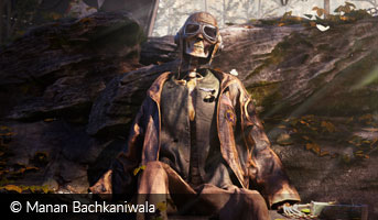 Manan Bachkaniwala In Peace 3D contest